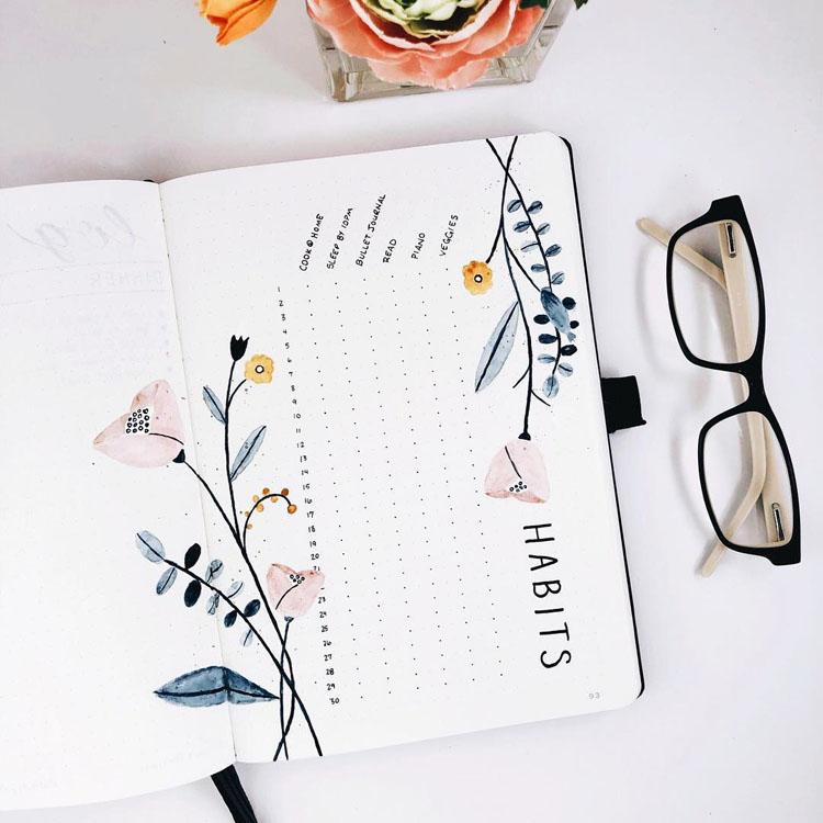 Comment s'organiser avec la méthode Bullet Journal ? Je vous explique pas à pas comment faire #bulletjournal #productivité #organisation