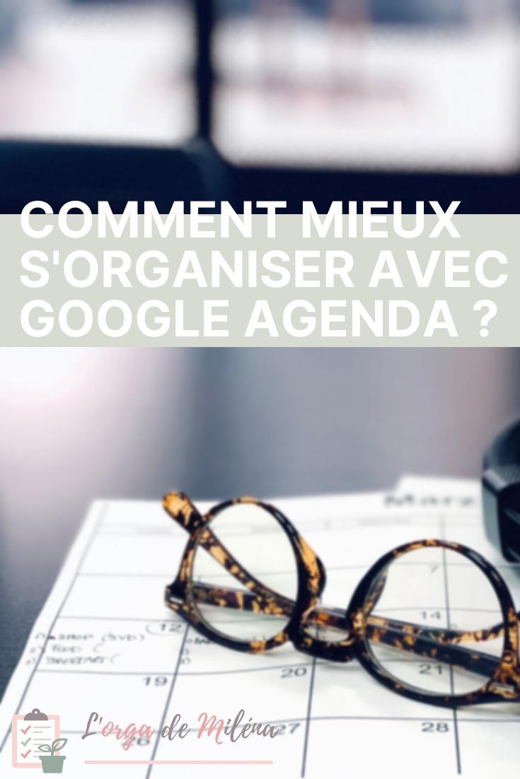 Vous connaissez tous Google et sa suite d'applications. D'ailleurs vous en utilisez sûrement plusieurs chaque jour, peut-être même déjà l'application Google Agenda. Mais est-ce que vous connaissez vraiment toutes ses fonctionnalités ? Dans ce nouvel article, je vous explique comment utiliser en pratique les fonctionnalités de Google Agenda pour gagner du temps et mieux vous organiser #organisation #agenda #planification