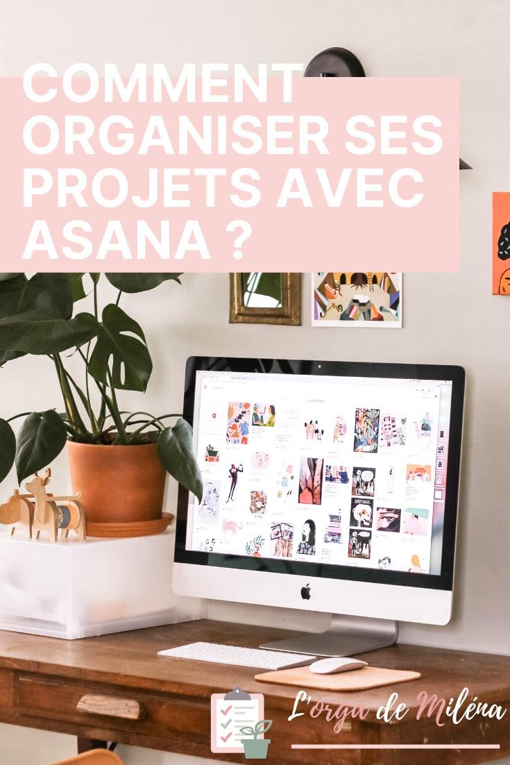 Découvrez le fonctionnement de l'application Asana et comment l'utiliser en pratique pour organiser n'importe quel projet ! #organisation #asana #entrepreneuriat #gestiondeprojet