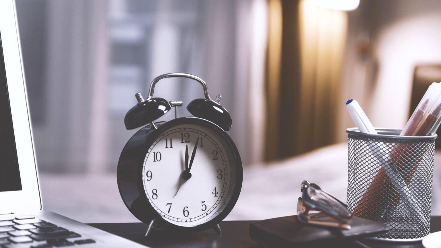 Être plus productive avec les 8 lois de gestion du temps