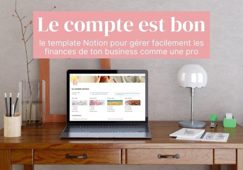 Le template Notion prêt à l'emploi pour gérer les finances de son business comme une pro